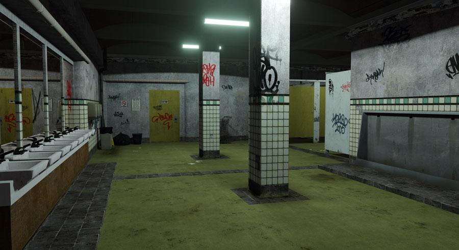 GTA IV - Middle Park Restroom