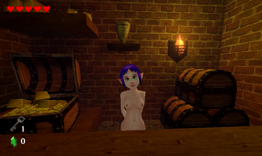 nsfw/nude oot 3ds models