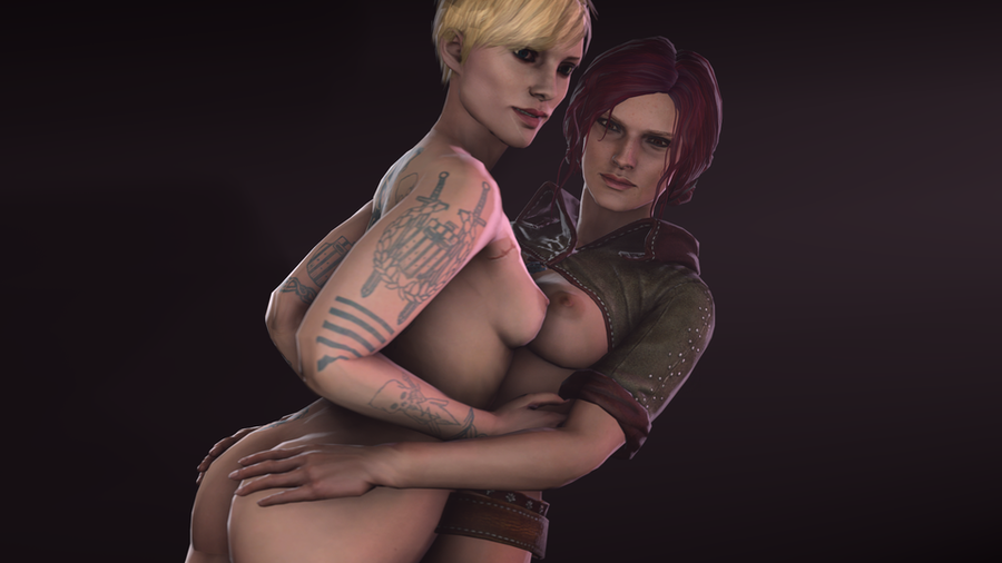 Triss Merigold and Ves NUDE