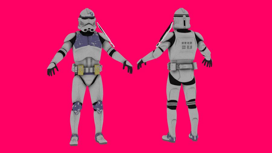 Star Wars: Clone Trooper Assassin Pack V1