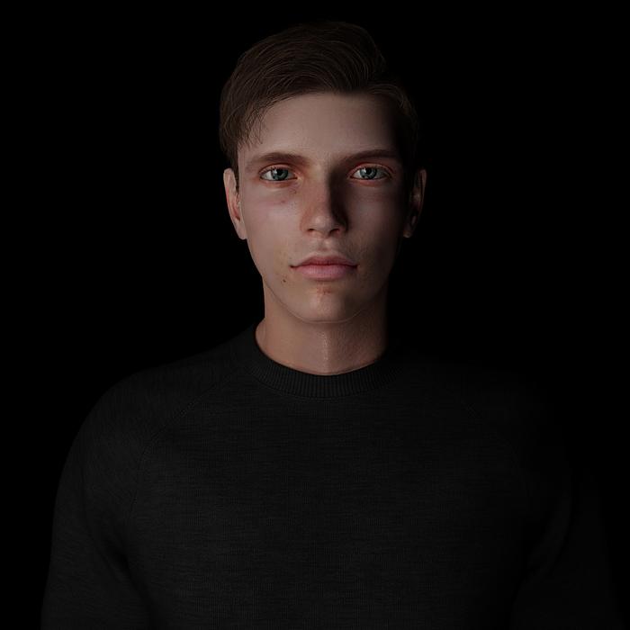 Tyler (Generic Male 1) [New Version]