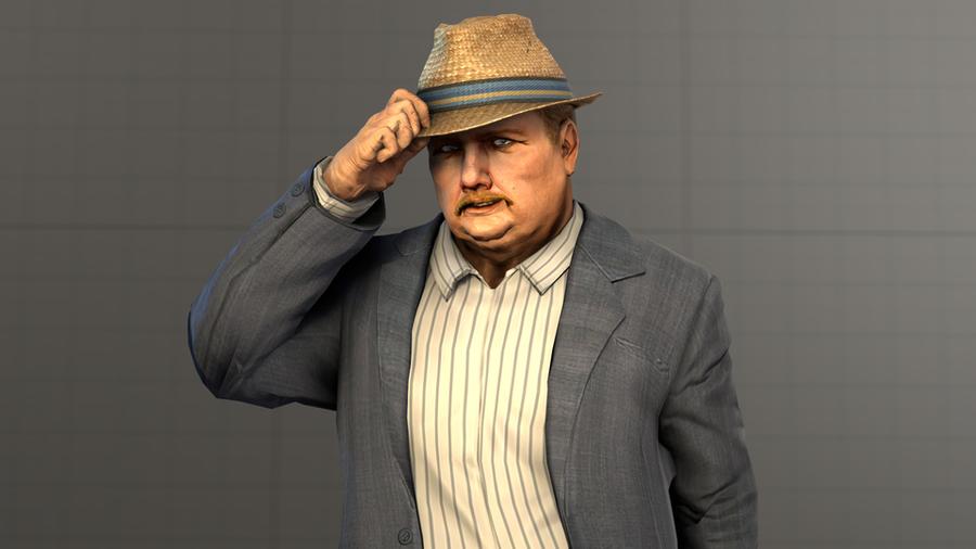 Max Payne 3 Anders Detling