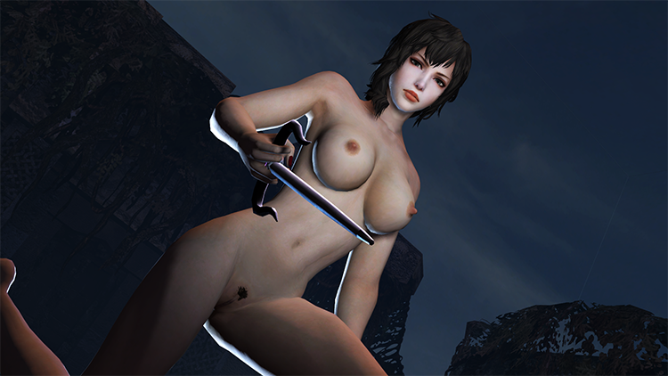 Wang Yi Nude