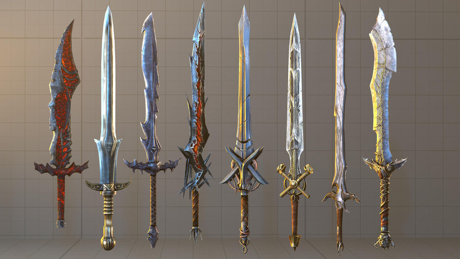 Lords of the Fallen SFM Collection part 2 Weapons A