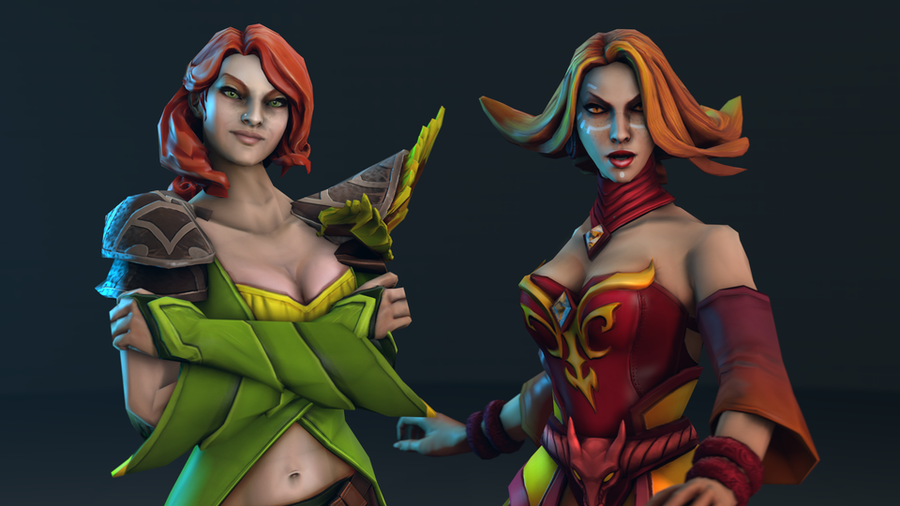 Dota 2 reworked heroes (Part 1)