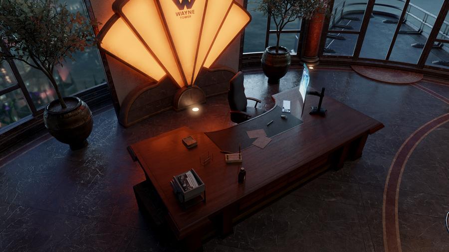 Batman Arkham Knight - Wayne Tower Office