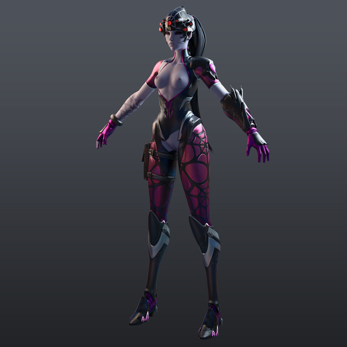 [Overwatch] Widowmaker Spider for Cinema 4D r20 [ Redshift 3.0.08 ]