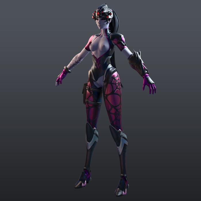 [Overwatch] Widowmaker Spider for Cinema 4D r20 [ Redshift 3.0.08 ]