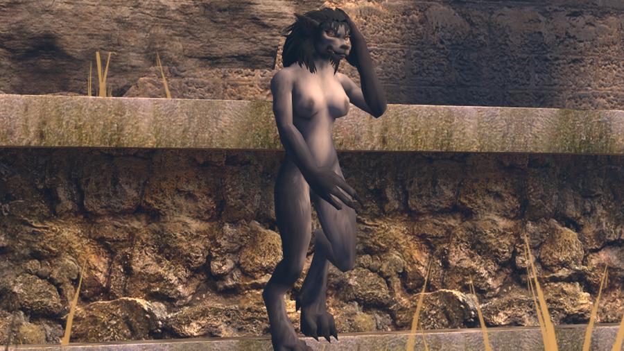 World of Warcraft -- Worgen Female