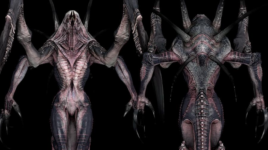 Evolve: Wraith NSFW version