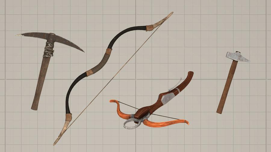 Weapons / Shields [Conan Exiles]