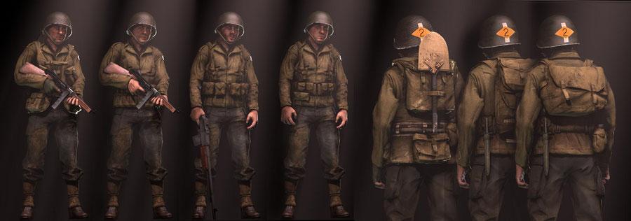 WW2 U.S Army Rangers
