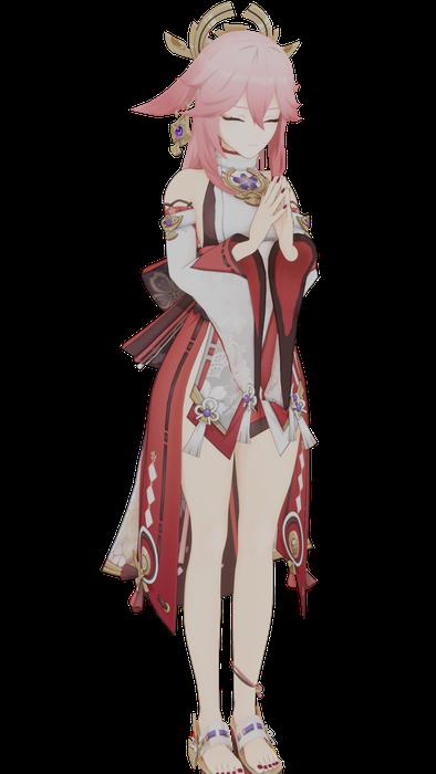 Yae Miko [Genshin Impact]