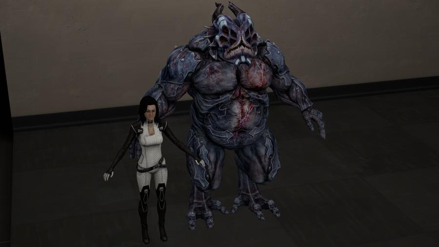 Yahg Mass Effect 2 Nude