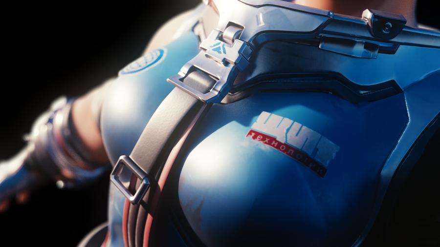 [Overwatch] Lewd Zarya for Blender - BETA