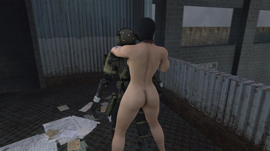Meryl Masked Nude MGS4