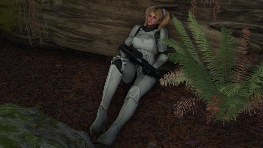 Juliet Stormtrooper Nude