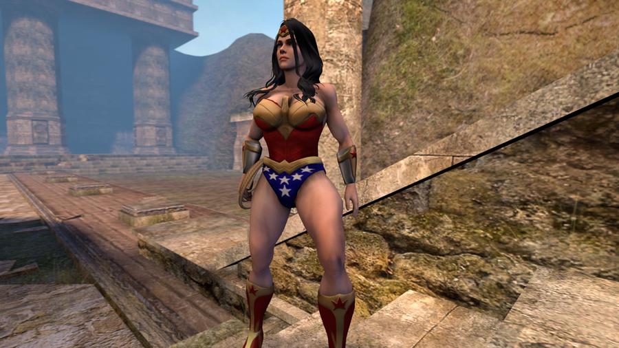 Wonder Woman Nude