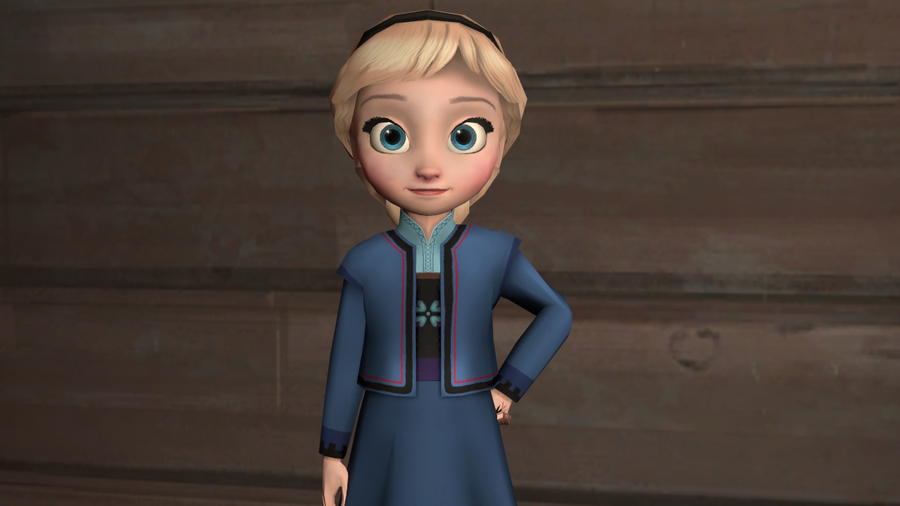 Child Elsa