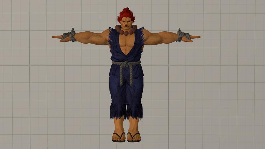 Tekken7/Street Fighter - Akuma