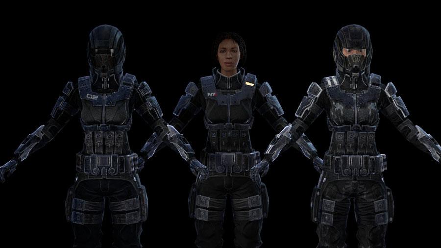 Alliance soldiers - Mass effect 3 [Kali]