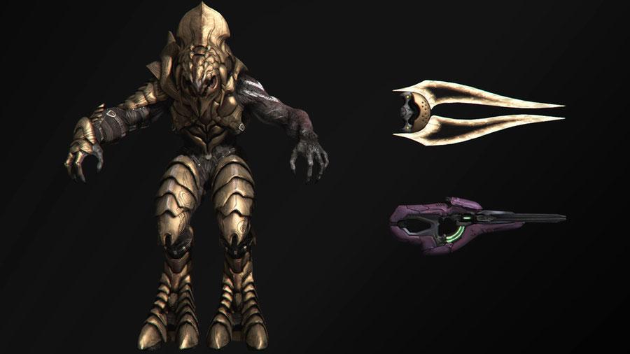 Halo 5 (Killer Instinct) - Arbiter