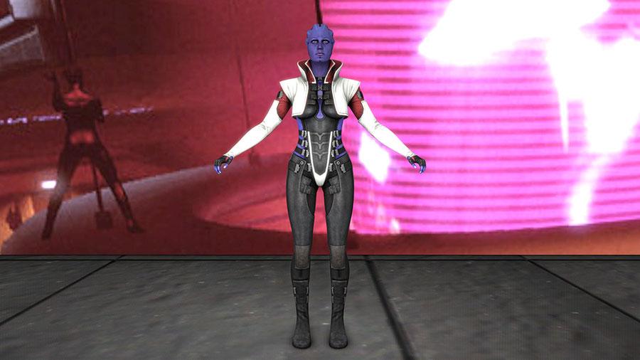 Aria T'Loak Suit Model
