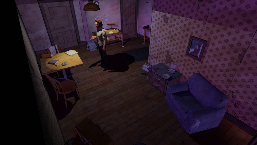 Bigby's Apartment (The Wolf Among Us)