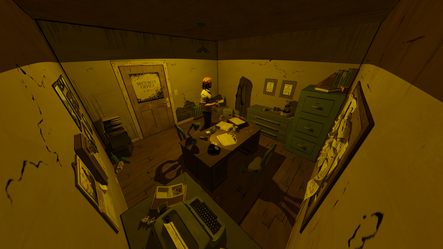 Bigby's Office (The Wolf Among Us)