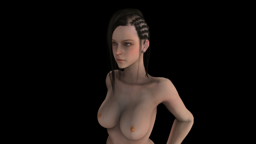 Black Desert Female Nude
