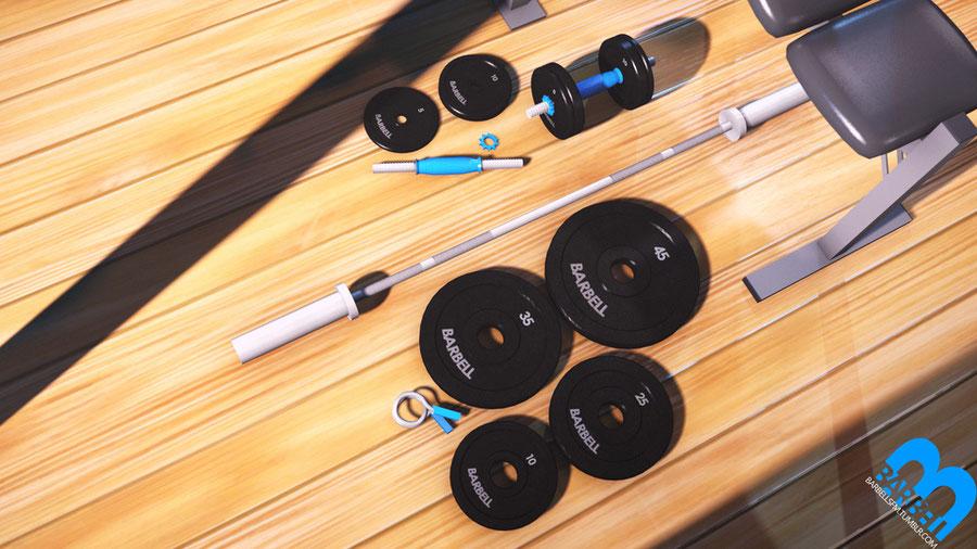 Barbells' Barbell Prop Pack V1.1