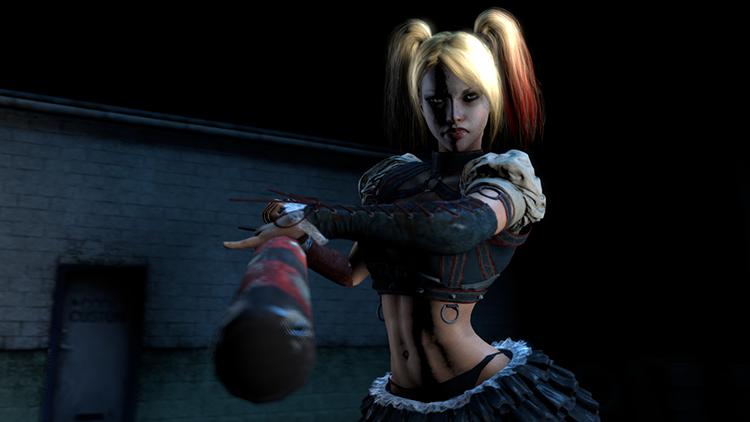 Harley Quinn Nude - Batman: Arkham Knight
