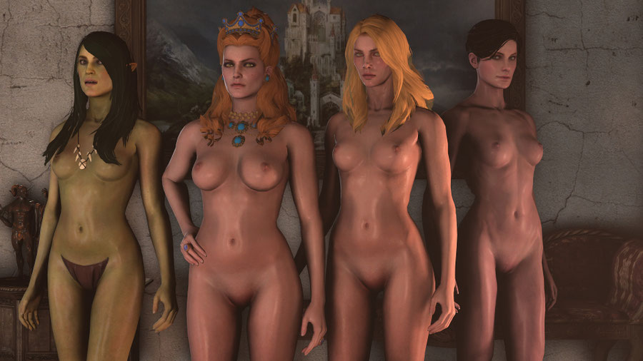 The Witcher 3: Blood and Wine Nudes