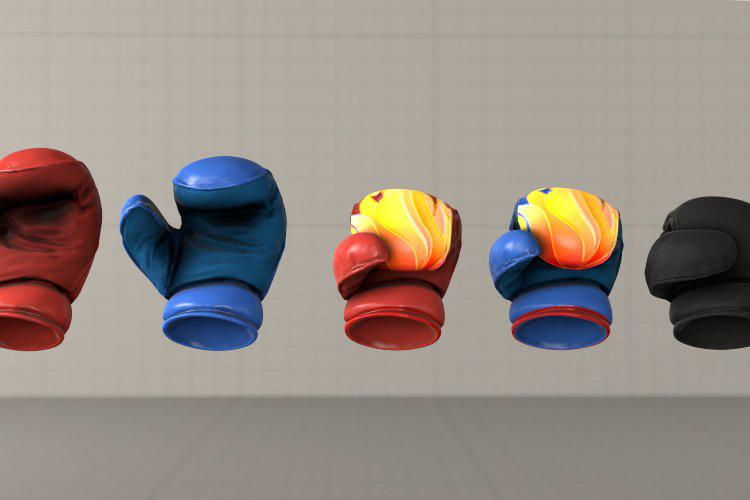 HD Sculpted Boxing Gloves