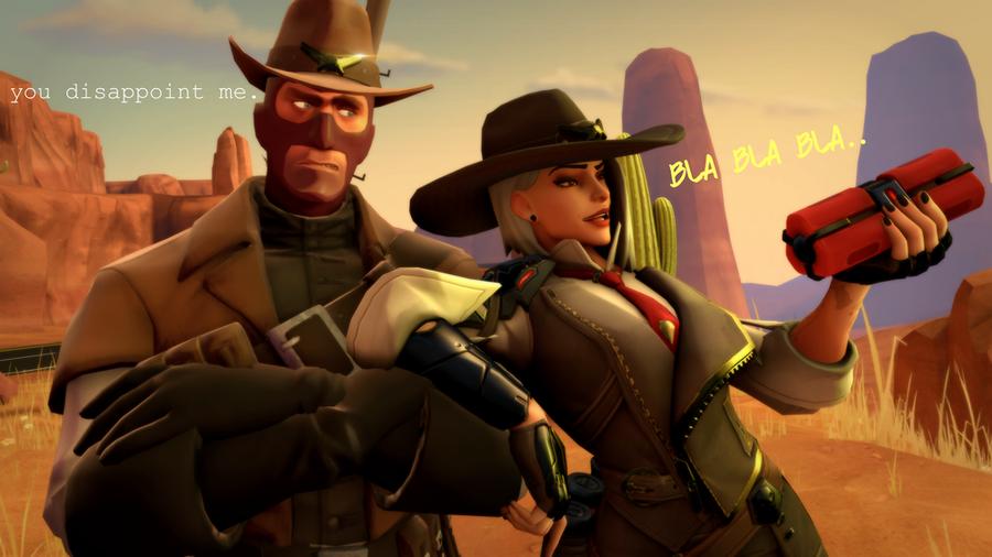 Overwatch - Ashe voicelines