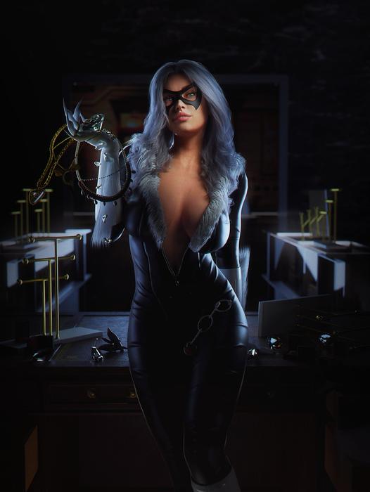 Black Cat HD [Marvel/Custom]