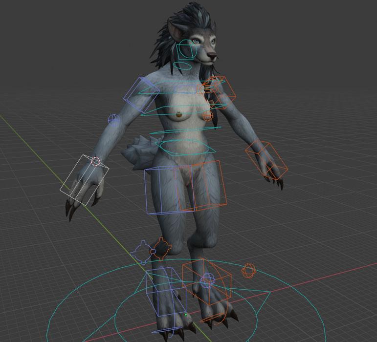 [Warcraft] Worgen Female