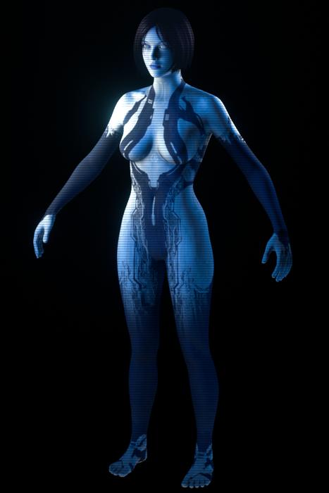 Halo 4 - Cortana (WIP)