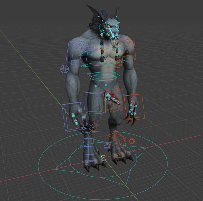 [Warcraft] Worgen Male