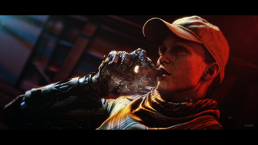 COD: Black Ops 3 - Main Female Character