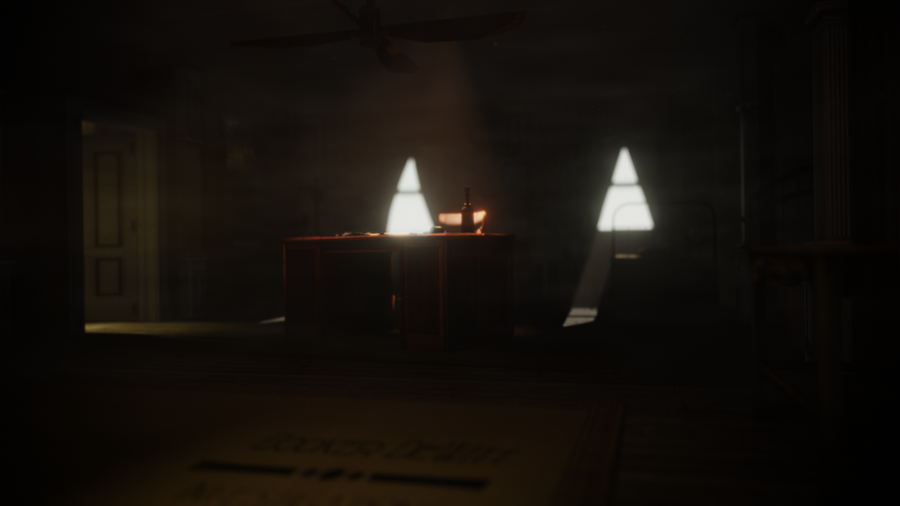 Bioshock: Infinite - Booker's office