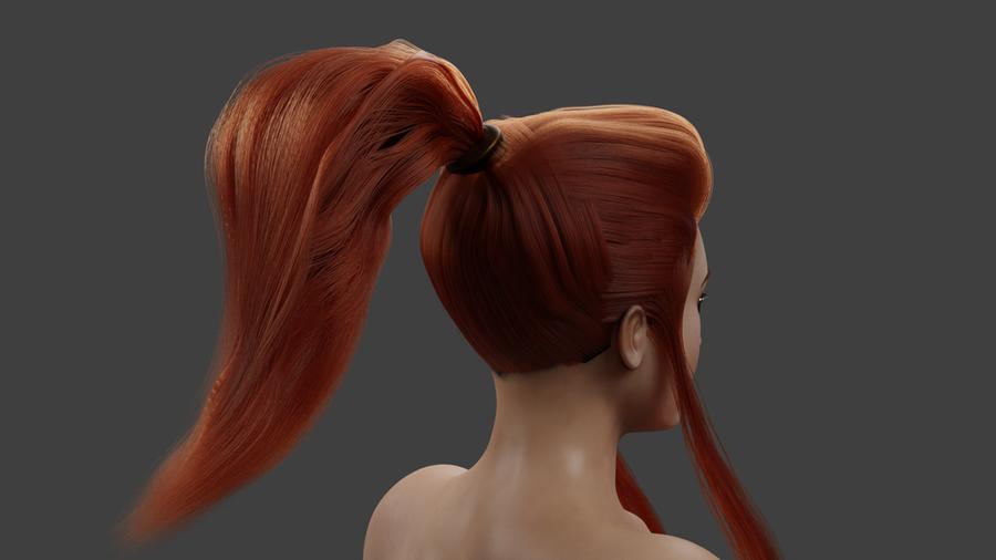 Brigitte Particle Hair