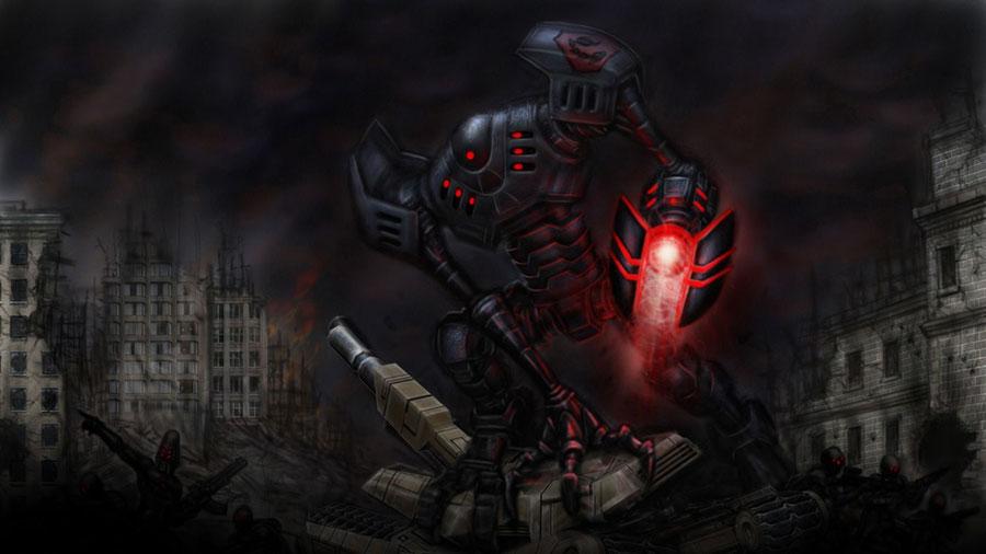C&C 3: Tiberium Wars Nod units' sound effects