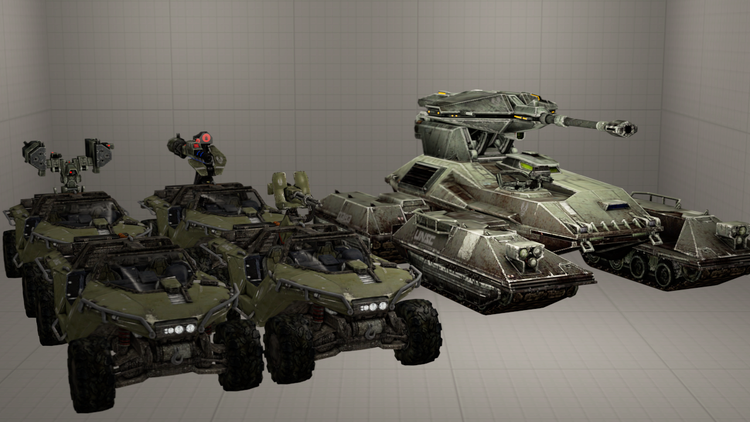 Halo 4 - Vehicles