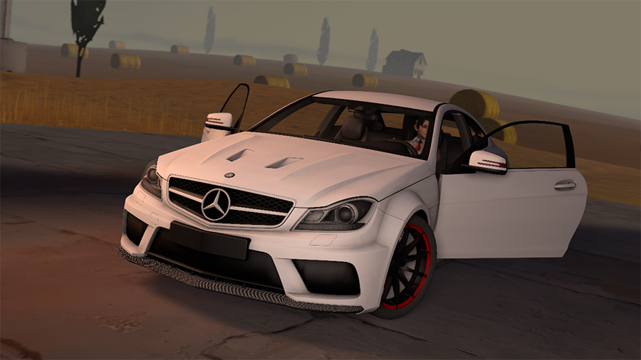 Mercedes Benz C63 AMG - HD