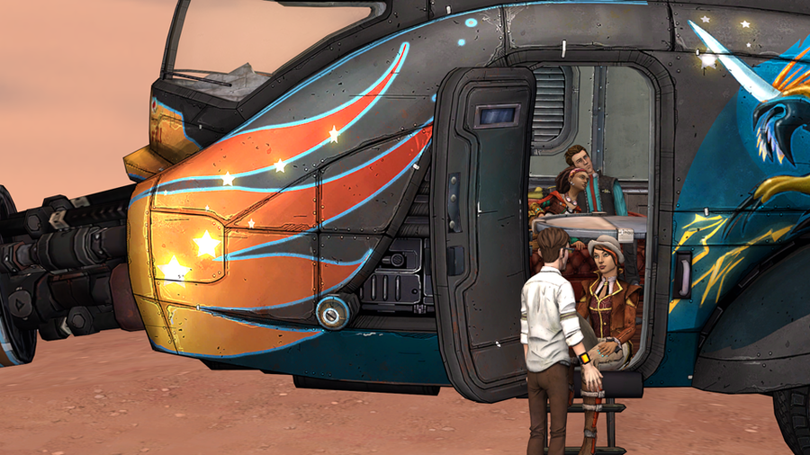 Tales from the Borderlands: Caravan Model Pack
