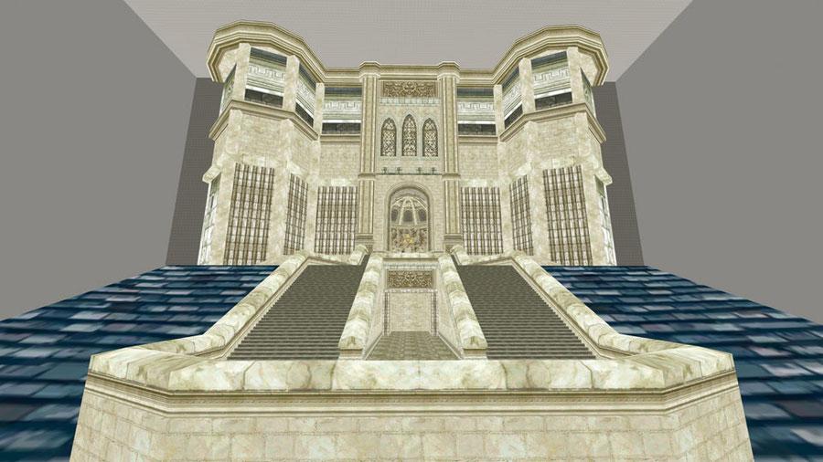 Hyrule Castle Throne Room (Twilight Princess)