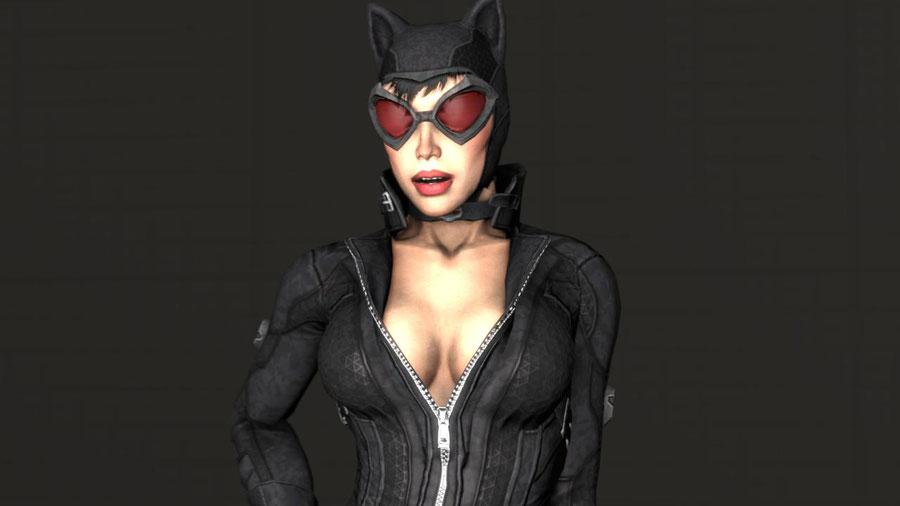 Arkham City Catwoman Reupload