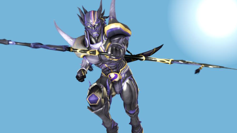Final Fantasy - Cecil Harvey (Dark Knight) + Dark Claw weapon