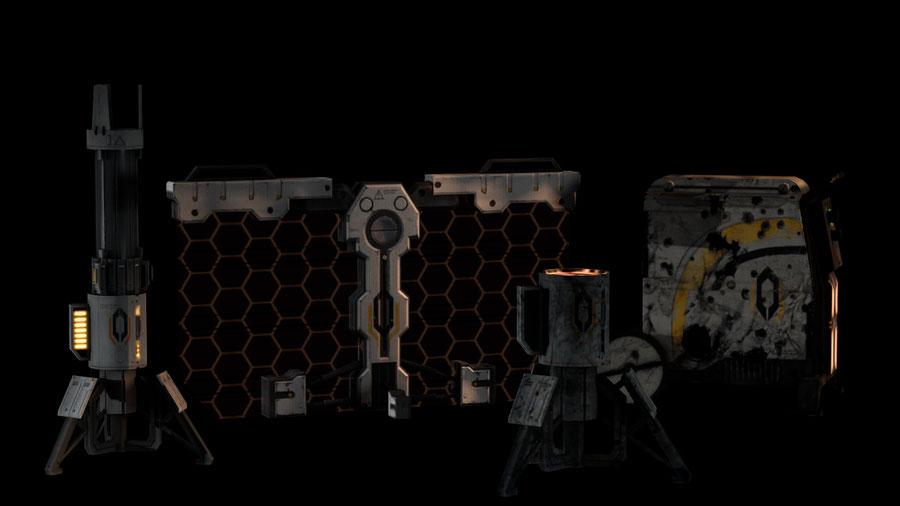 Cerberus extras - Mass Effect 3 Omega DLC [Kali]